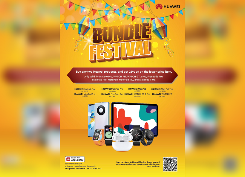 Score Big Savings at the Huawei Bundle Festival this May