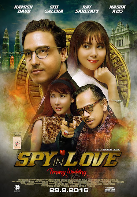 Sinopsis Spy in Love: Penang Wedding (2016) - Film Indonesia