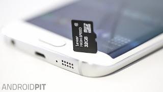 microSD a mobilban