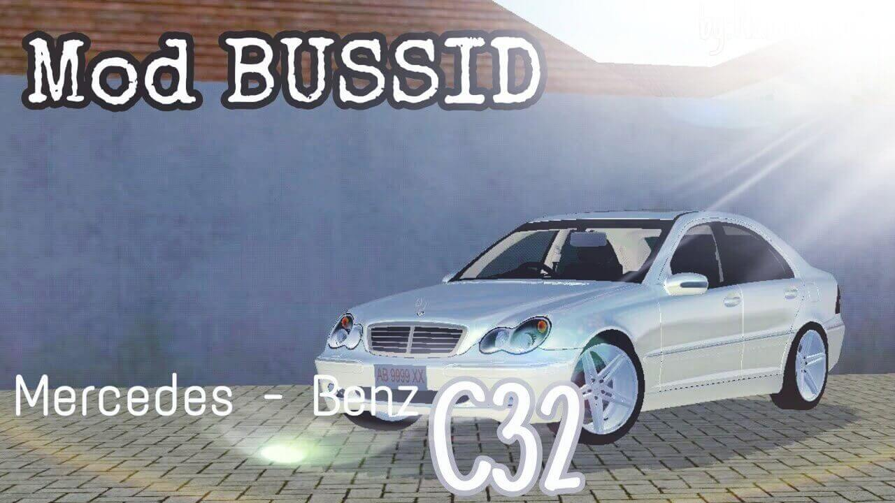 Mod Bussid Mercedes-Benz C32