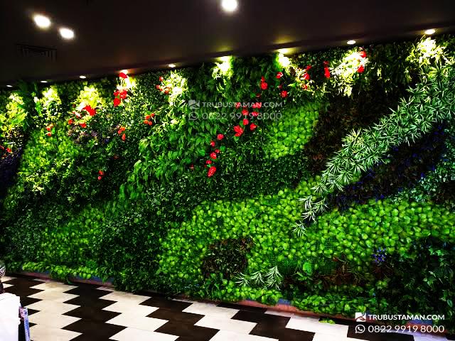 jasa taman vertikal garden sintetis