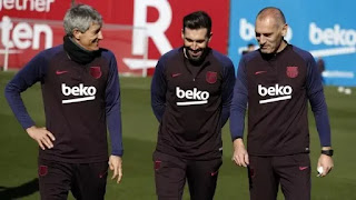 Setien & his coaching staff hopeful that Suarez will return after COVID-19 break