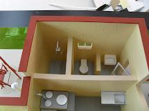 Maqueta De Casa Ecologica