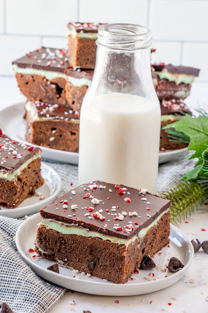brownie with a bottle of milk