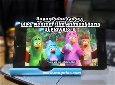 Bayar Pakai GoPay Nonton Film Animasi