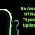 Be Aware ! New Android malware is pretended to be System update