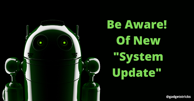 Android malware as system update