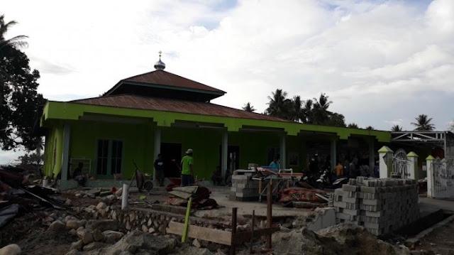Allahu Akbar, Gelombang Tsunami Lompati Kubah Masjid Ini Hingga Tetap Berdiri Kokoh