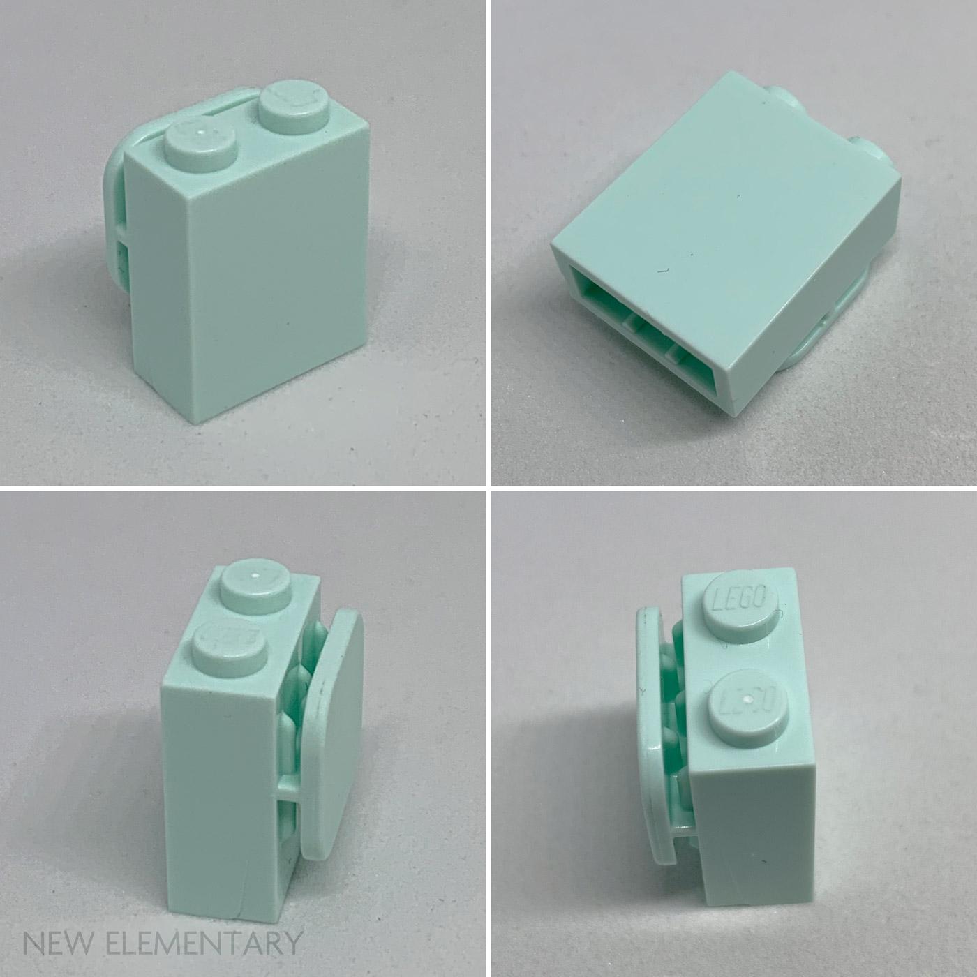 6 Brown 1x1 Brick w// Nub Bricks Brick ~ Lego ~ NEW ~ Castle