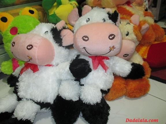 Boneka Sapi Dadalala dan Rizza Collection : Kiddle.ID