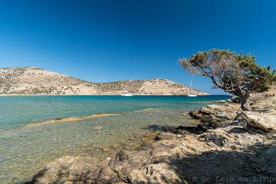 Baie de Kalados-Naxos-Kalados bay
