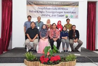 Kegiatan Pendidikan dan Pelatihan Pengelolaan Usaha Bumdesa di Kabupaten Cianjur