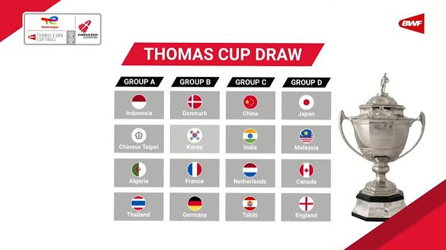 Piala Thomas 2021