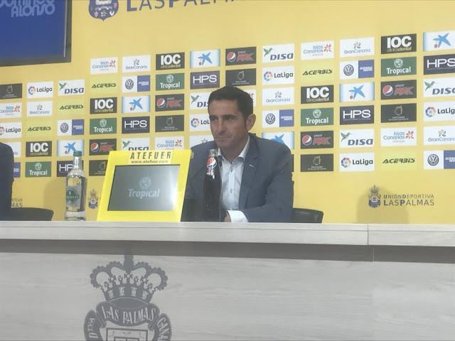 Última rueda de prensa de Manolo Jiménez con UD Las Palmas