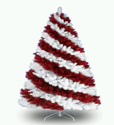 arboles de navidad color rojo parte