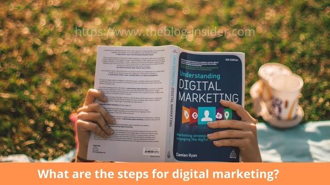 7 steps for digital marketing?