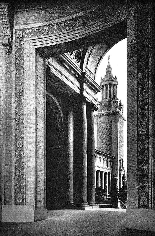 1915 WORLD'S FAIR giant gate