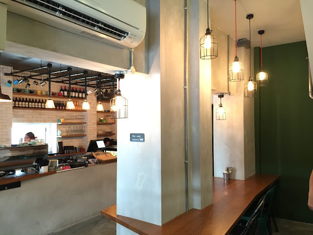 A.R.C Coffee Singapore - Interior and Ambience