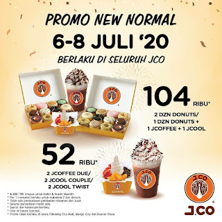 New Normal Promo with #JCOIndonesia