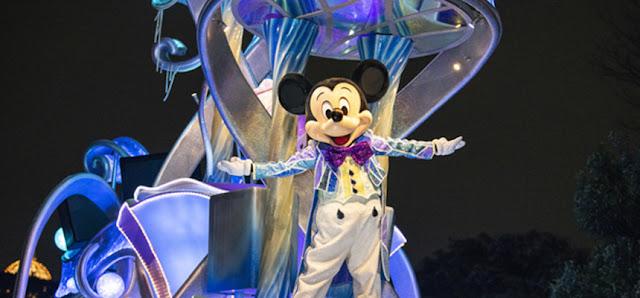 東京迪士尼樂園 Tokyo Disneyland 夜幕彩輝 Nightfall Glow 夜間巡遊 特別登場 2020年9月)