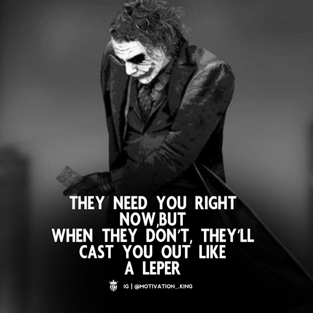 joker quotes on trust, joker quotes that make sense, joker quotes about pain, joker quotes on love