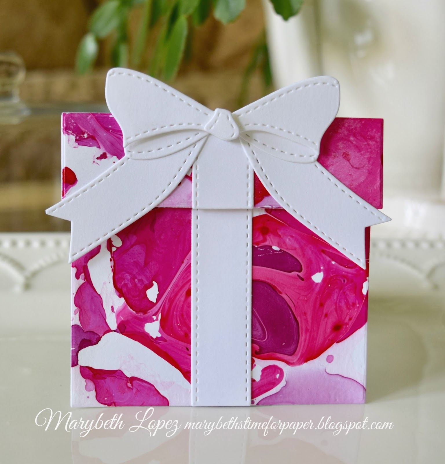 Marybeth\'s time for paper: Nail Polish With a Birthday Card