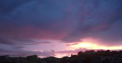 Atardecer con nubes lilas DSCF5882