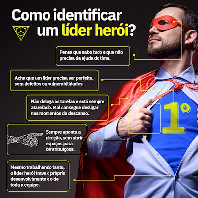 como ideitificar um lider heroi