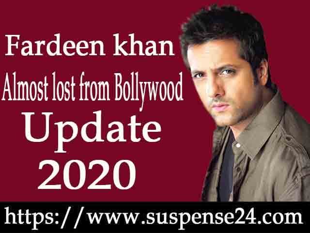 Fardeen khan is almost lost from Bollywood
