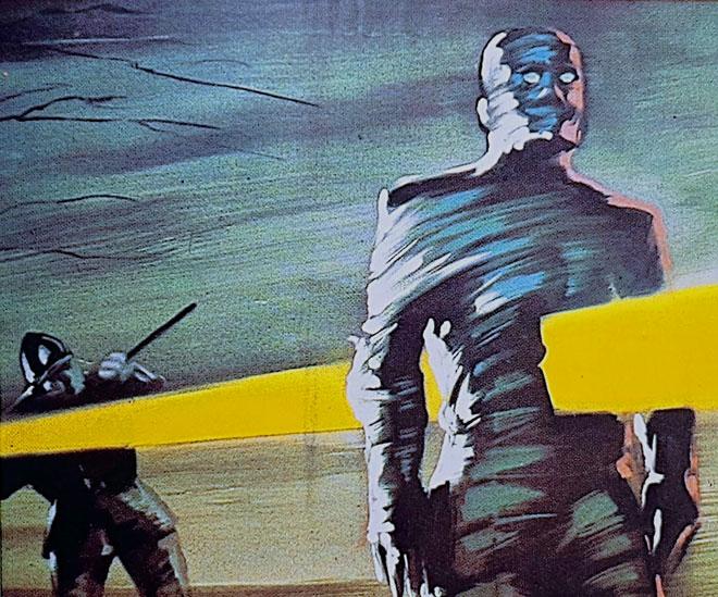 La Momia. Cine de terror de serie B