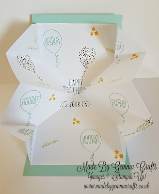 Stampin'Up! Happy Birthday Gorgeous MadeByGemmaCrafts