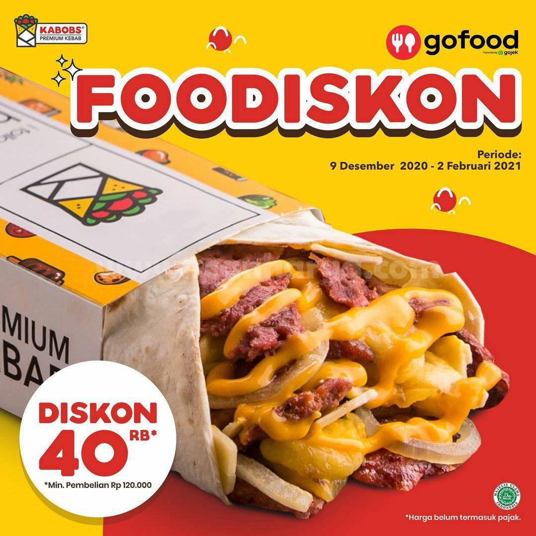 Promo KABOBS FooDiskon Rp. 40.000 via Gofood