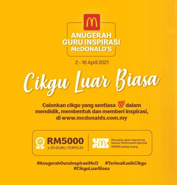 Calon Anugerah Guru Inspirasi McDonalds 2021, Cikgu Mohd Hasnizan