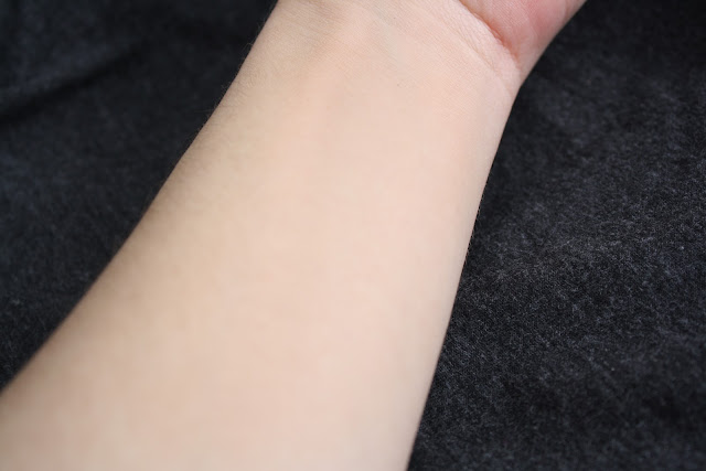 Urban Decay Naked Skin Foundation Swatch Shade 3.5 blended out on arm