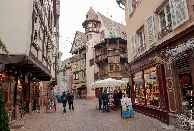 Colmar Pfizer Alsacia visitar