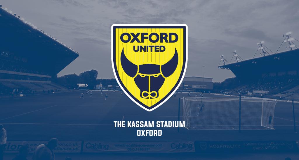 The Kassam Stadium and Oxford United logo