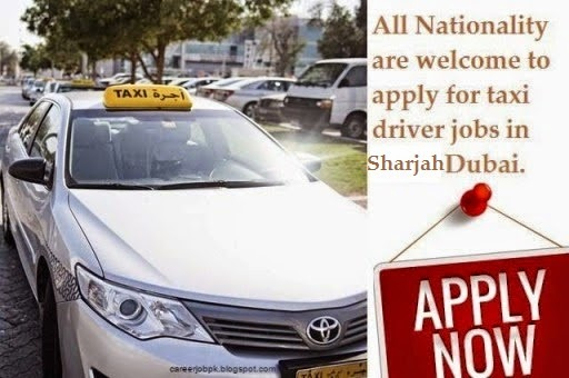 Taxi Driver Jobs In Sharjah, UAE
