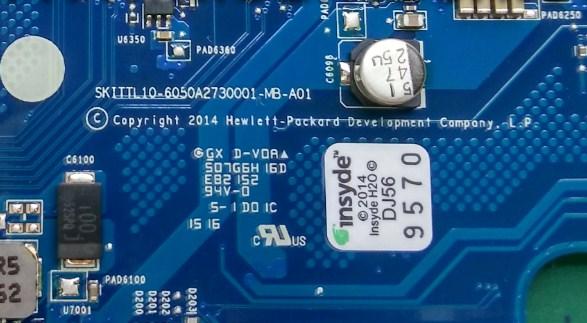 6050A2730001-MB-A01 SKITTL10 HP 240 - 246 G4 Bios