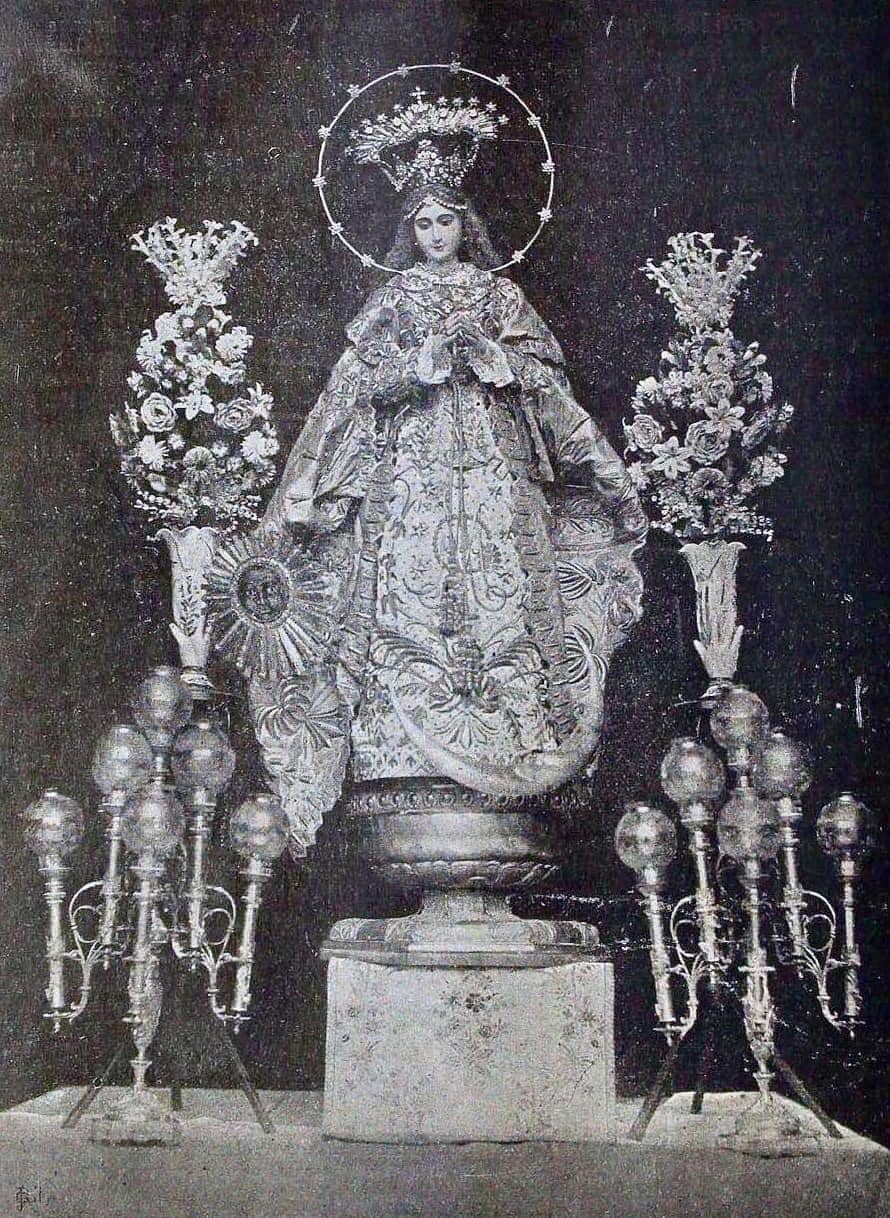 The fabled La Purissima Concepcion of the Franciscans