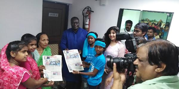 बच्चों के साथ मनाई यूनीसेफ इंडिया की सत्तरवीं वर्षगांठ, तीन जिलों से आए बच्चों ने उठाई अधिकारों की आवाज