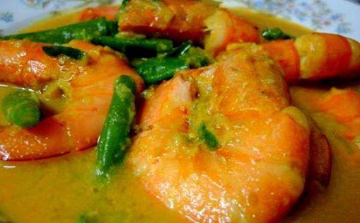 resepi udang masak lemak cili api resepi gulai Resepi Kek Span Setengah Kilo Enak dan Mudah