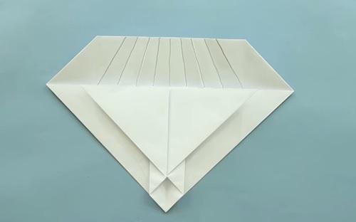 Cách gấp máy bay giấy F22 Origami phần 2
