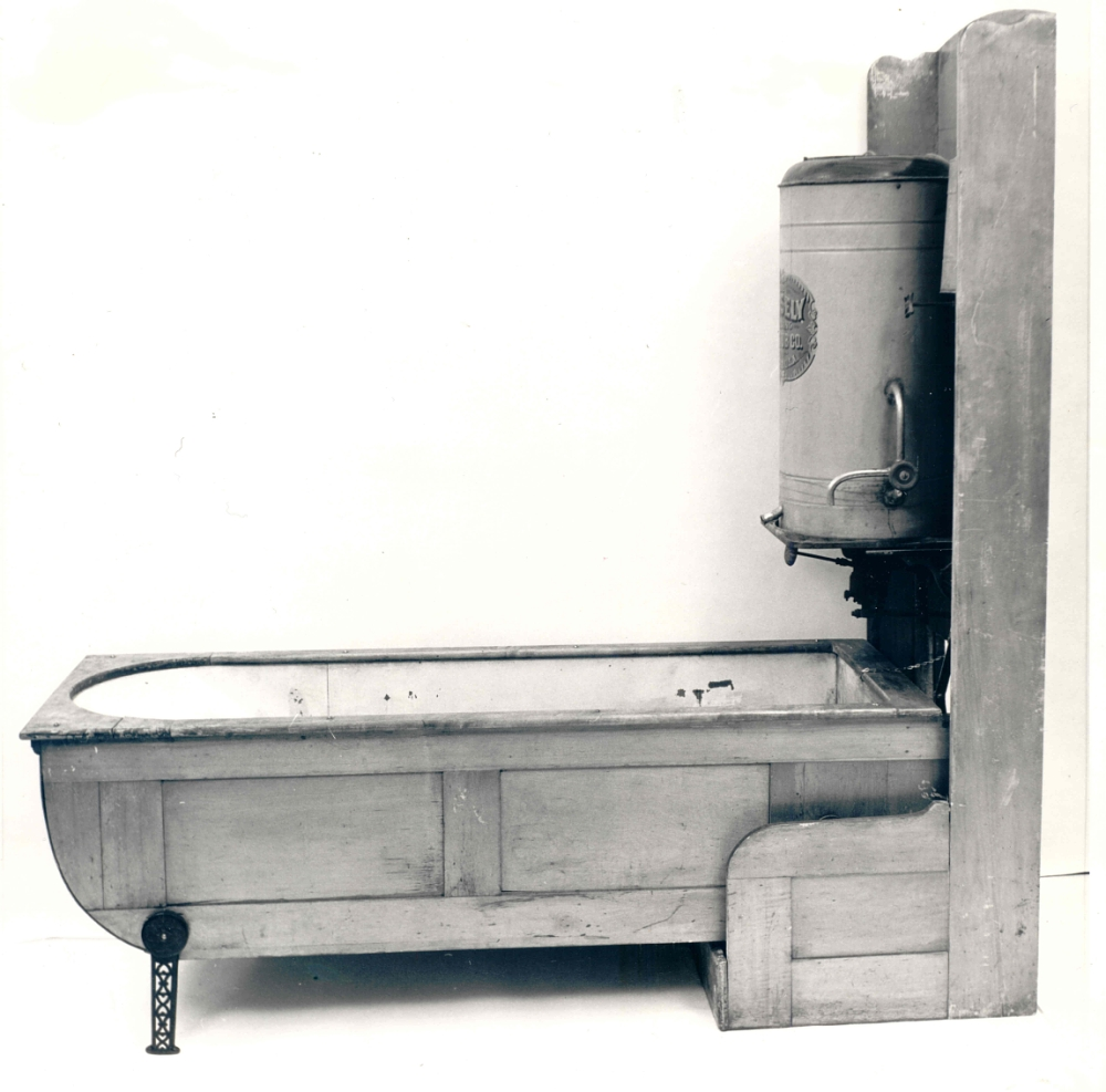 Mosely Folding Bath Tub From the Late 19th Century