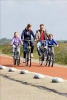Urlaub mit Fahrrad in Holland