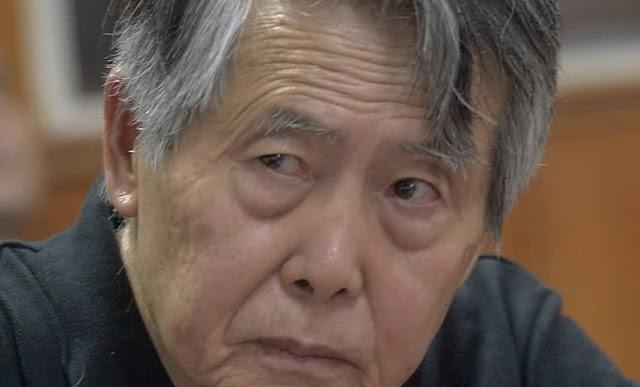 Fujimori fue internado en clínica por baja saturación de oxígeno.