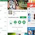 Aplikasi semut berjalan di layar HP Android