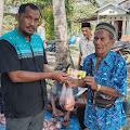 Kades Nyiur Permai Kecamatan Keritang Mendapatkan Bantuan Satu Ekor Sapi untuk Hewan Kurban