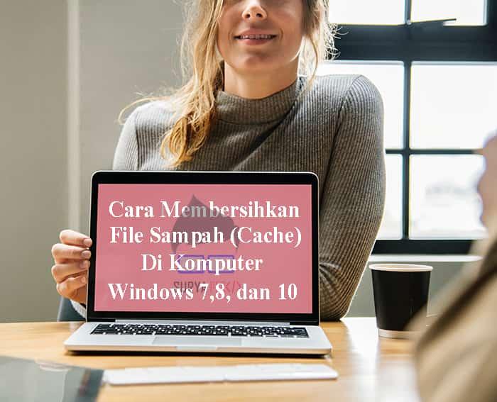 cara menghapus cache di windows