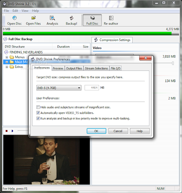 DVD Shrink 3.2.0.15 (Software Backup CD DVD Gratis Terbaik)