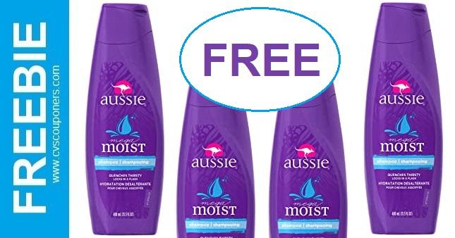 FREE Aussie Shampoo CVS Deals
